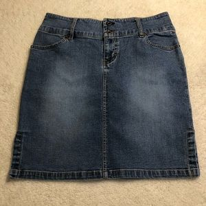 Vintage Tommy Hilfiger Pencil Jean Skirt